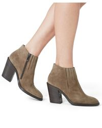 Aquatalia - Multicolor Loren Suede Ankle Boots - Lyst