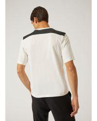 Emporio Armani - White T-shirt for Men - Lyst