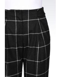 Emporio Armani   Multicolor Pants With Tucks   Lyst