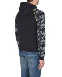 Armani Jeans - Black Hoodie for Men - Lyst
