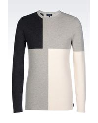 Armani Jeans | Gray Crewneck for Men | Lyst