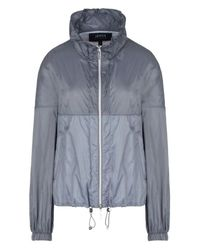 Armani Jeans | Gray Blouson Jacket | Lyst