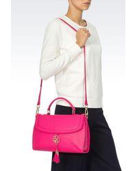 Armani Jeans - Purple Shoulder Bag - Lyst