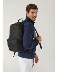 Emporio Armani - Black Backpack for Men - Lyst