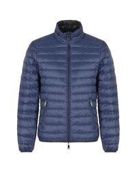 Armani Jeans - Blue Bomber Jacket for Men - Lyst