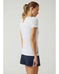 Emporio Armani - White T-shirt - Lyst