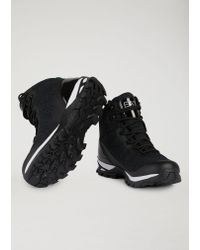 Emporio Armani - Black Sneakers for Men - Lyst