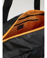 Emporio Armani - Black Gym Bag for Men - Lyst