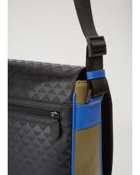 Emporio Armani - Black Messenger Bag for Men - Lyst