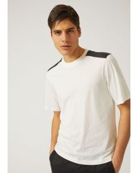 Emporio Armani - White T-shirt for Men - Lyst