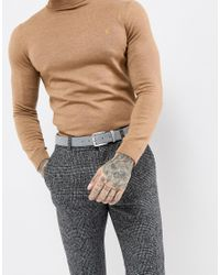 Ted Baker - Gray Trinnie Belt In Suede for Men - Lyst