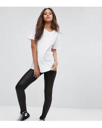 Noisy May Tall - Black Legging - Lyst