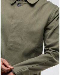 Only & Sons - Green Mac In Heavy Cotton Twill for Men - Lyst