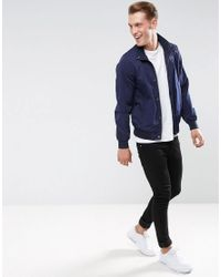 Scotch & Soda - Blue Scotch And Soda Classic Bomber Jacket for Men - Lyst