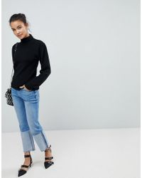 Fashion Union - Black Turtleneck Sweater - Lyst