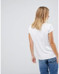 French Connection - White Young As Fcuk T-shirt - Lyst