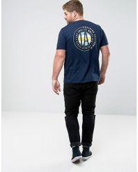 ASOS - Blue Plus T-shirt With La Print for Men - Lyst