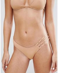 Minimale Animale - Natural Studded Bikini Bottom - Lyst