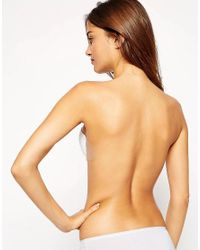 Fashion Forms - White Go Bare Backless Strapless Push Up Bra - Lyst