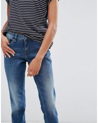 Blend She - Blue Casual Dawn Straight Jeans - Lyst