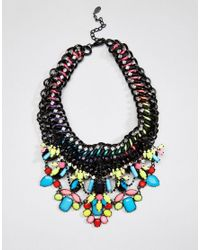 ALDO | Multicolor Tropical Bright Statement Necklace | Lyst