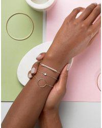 ALDO - Metallic Adrauss Delicate Stacking Bracelets - Lyst