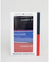 Tommy Hilfiger - Multicolor Trunks In 3 Pack Multi for Men - Lyst