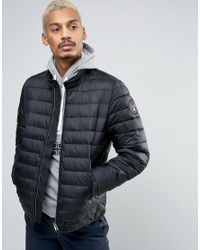 Napapijri | Aerons Stand Padded Jacket In Black for Men | Lyst