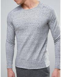 Jack & Jones   Gray Premium Sweater for Men   Lyst