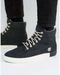 Timberland   Black Newport 6 Inch Canvas Boots for Men   Lyst