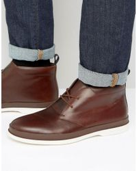 Paul Smith | Brown Inkie Chukka Boots for Men | Lyst