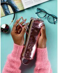 Mi-Pac - Pink Mirror Pencil Case - Lyst
