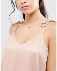 Dogeared - Metallic Maya Angelou Gold Plated Starburst Charm Necklace - Lyst