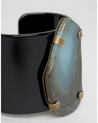 Jaeger - Green Stone Effect Cuff (+) for Men - Lyst