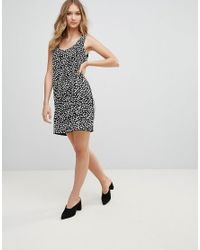 French Connection - Black Dorothy Drape Dress - Lyst