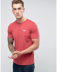 Tokyo Laundry   Red Crew Neck Marl T-shirt for Men   Lyst