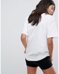 The Ragged Priest - White Oversized Jaguar T-shirt - Lyst
