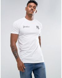 KTZ | White Tech Series Yankees T-shirt for Men | Lyst