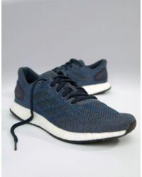 fed572070 adidas Running Pureboost Dpr In Navy Bb6293 in Blue for Men - Lyst