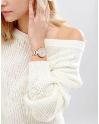 Michael Kors - Metallic Parker Rose Gold Chronograph Watch Mk5616 - Lyst