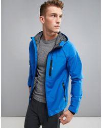 Blend - Blue Active Hooded Track Jacket for Men - Lyst