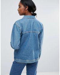 Bethnals - Blue Alfie Western Denim Jacket - Lyst