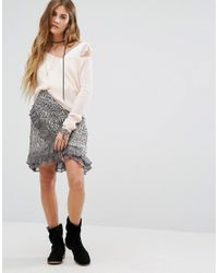 Free People   Multicolor Around The World Printed Wrap Skirt   Lyst