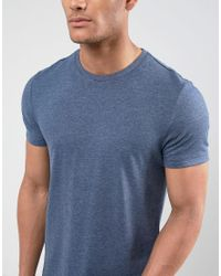 ASOS - Blue T-shirt With Crew Neck 3 Pack Save for Men - Lyst