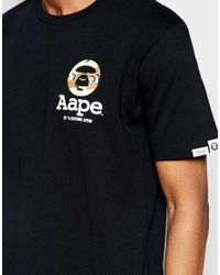 Aape - Black By A Bathing Ape New Desert Camo T-shirt for Men - Lyst
