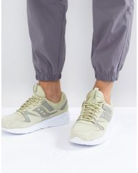 Saucony - Grid 8500 Ht Suede Sneakers In Green S70370-2 for Men - Lyst