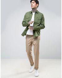Lee Jeans - Green Worker Shirt Regular Fit for Men - Lyst