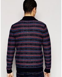 Original Penguin - Blue Knitwear for Men - Lyst