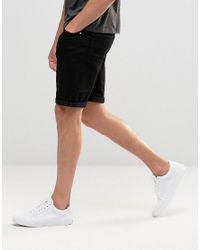 ASOS - Blue 2 Pack Skinny Denim Shorts Save for Men - Lyst