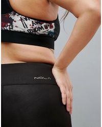 Nola - Black Reversible Printed Gym Legging - Lyst